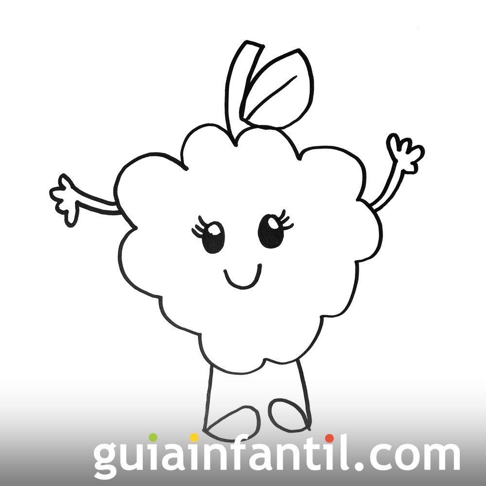 Imagen De Unas Uvas Dibujos Para Colorear Con Los Niños