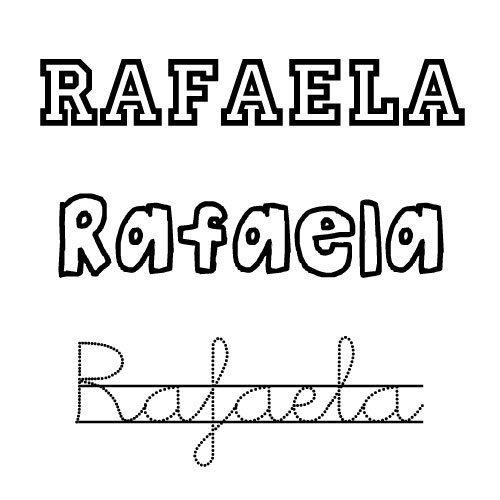 Rafaela. Nombres para niños