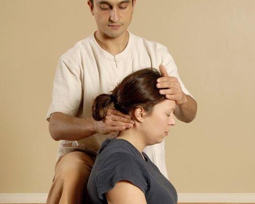 9. Relajar el cuello de la embarazada