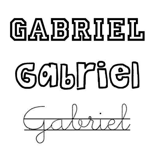 Gabriel. Nombres para niños