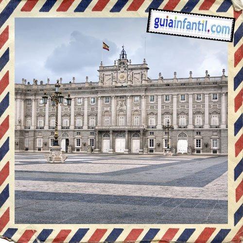 Palacio Real. Viajar a Madrid con los niños
