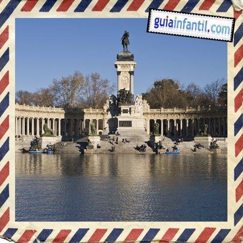 Parque del Retiro. Visitar Madrid con los niños
