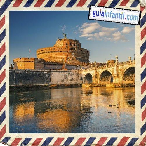 Castillo de Sant'Angelo. Viajar a Roma con los niños
