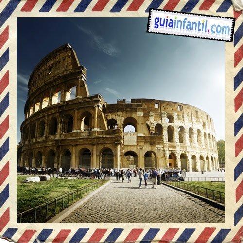 Coliseo Romano Viajar A Roma Con Los Niños