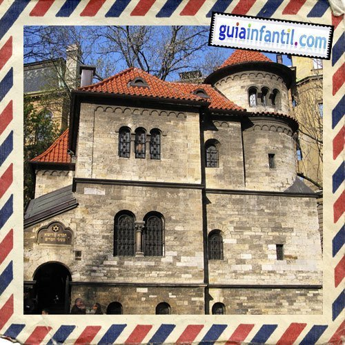 Barrio judío. Viajar a Praga con los niños
