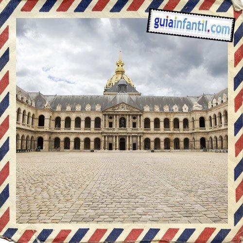 Palacio de los Invalidos. Viajar a París con los niños