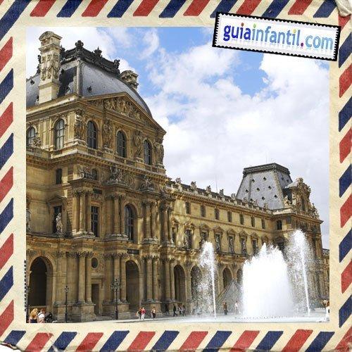 Museo del Louver. Viajar a París con los niños