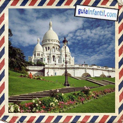 Basílica del Sacre Couer. Viajar a París con los niños