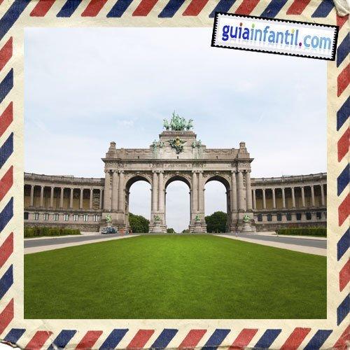 Palacio del Cincuentenario. Viajar a Bruselas con los niños