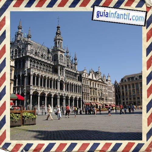 La Gran Plaza. Viajar a Bruselas con los niños