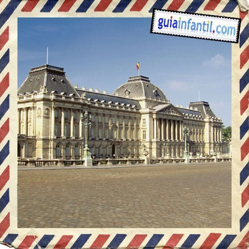 Palacio Real. Viajar a Bruselas con los niños