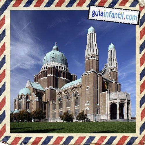 Basílica del Sagrado Corazón. Viajar a Bruselas con los niños