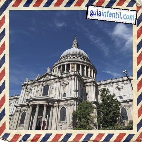 Catedral de San Pablo. Viajar a Londres con los niños