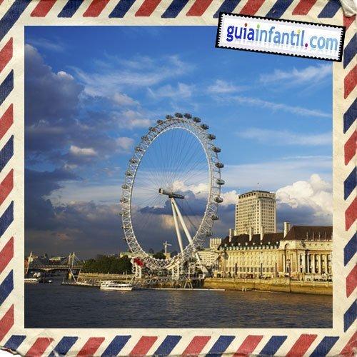 London Eye. Viajar a Londres con los niños