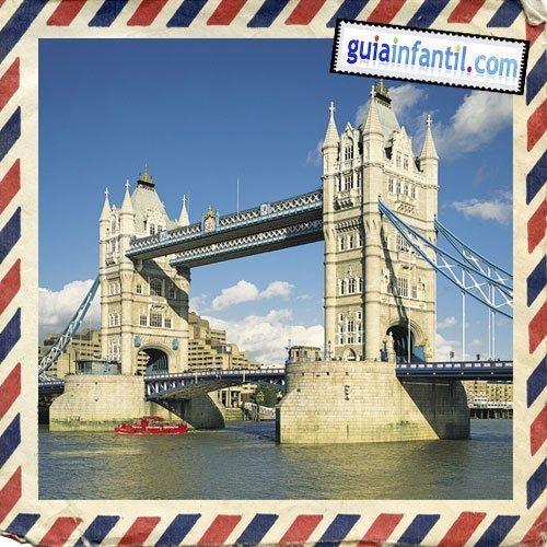 Tower Bridge. Viajar a Londres con los niños.