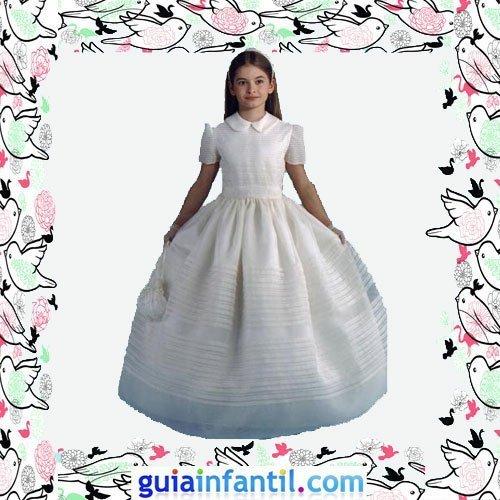 Vestidos Primera Comunión niñas. Modelo clásico