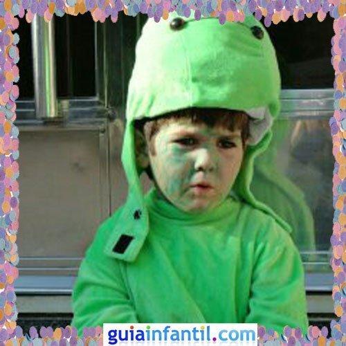 Concurso de Carnaval de Guiainfantil.com. Disfraz de dinosaurio