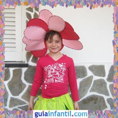 Concurso de Carnaval de Guiainfantil.com. Disfraz de flor