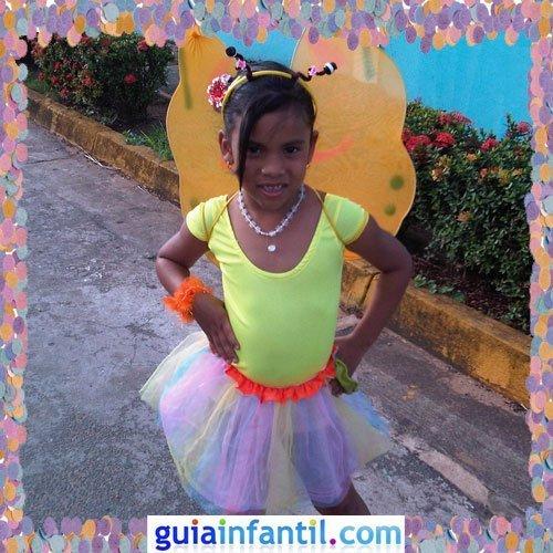 Concurso de Carnaval de Guiainfantil.com. Disfraz de hada del bosque