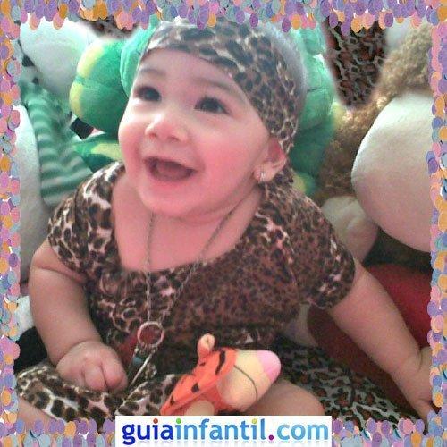 Concurso de Carnaval de Guiainfantil.com. Disfraz de indígena de tribu