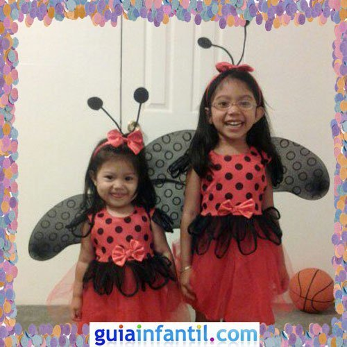 Concurso de Carnaval de Guiainfantil.com. Disfraz de mariquitas
