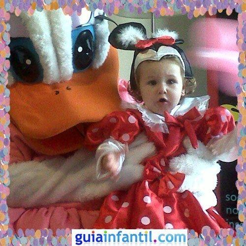 Concurso de Carnaval de Guiainfantil.com. Disfraz de Minnie Mouse