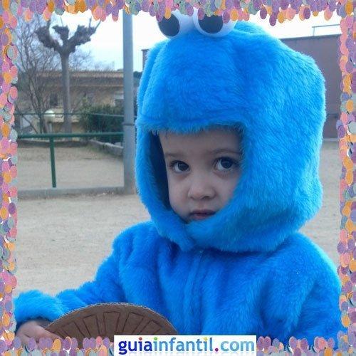 Concurso de Carnaval de Guiainfantil.com. Disfraz del Monstruo de las galletas