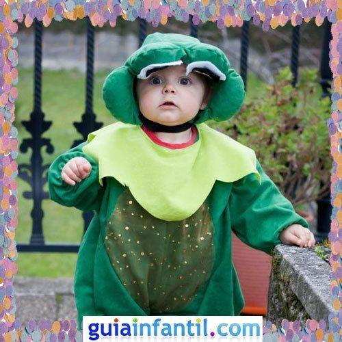 Concurso de Carnaval de Guiainfantil.com. Disfraz de rana