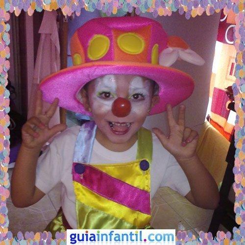 Concurso de Carnaval de Guiainfantil.com. Disfraz de payaso