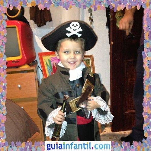 Concurso de Carnaval de Guiainfantil.com. Disfraz de pirata