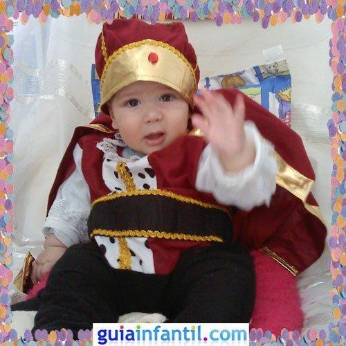 Concurso de Carnaval de Guiainfantil.com. Disfraz de rey medieval