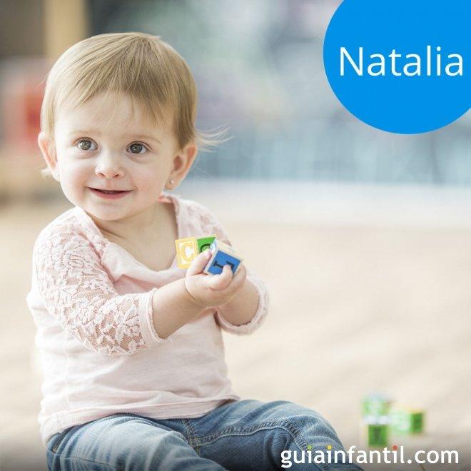Los nombres de niñas más populares. Natalia