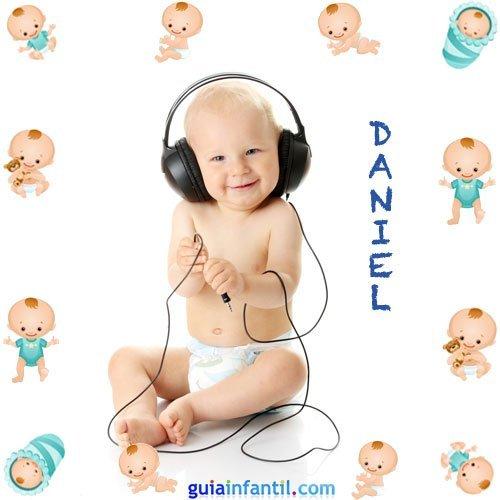 Los nombres de niños más populares. Daniel