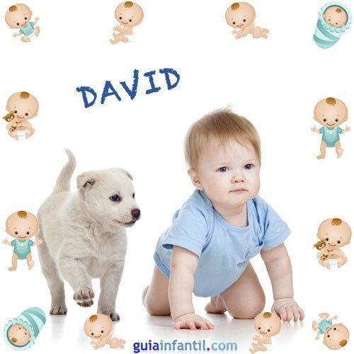 Los nombres de niños más populares. David