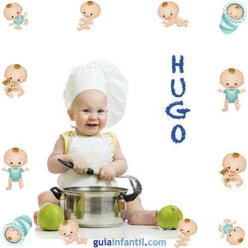 Los nombres de niños más populares. Hugo