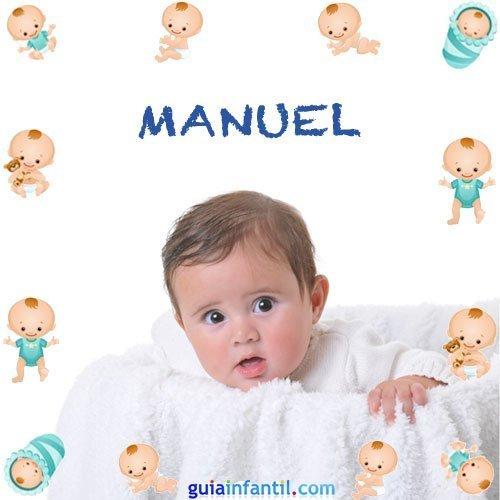 Los nombres de niños más populares. Manuel