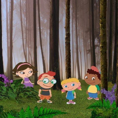 Los cuatro amigos de Little Einsteins de Disney