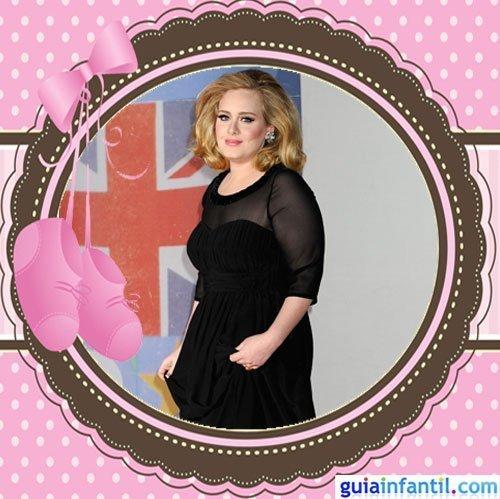 La cantante Adele embarazada por primera vez