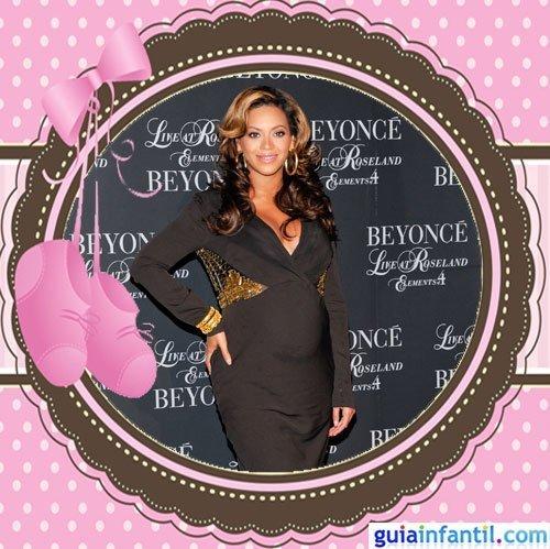 La cantante Beyonce embarazada de Blue Ivy