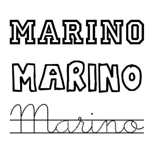 Marino. Nombres para niños