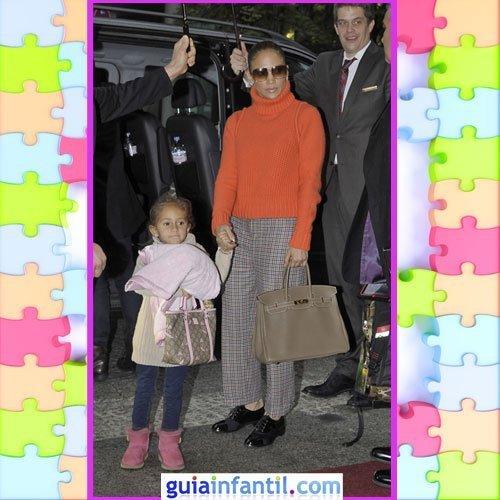 La hija de Jennifer López con un look sport de invierno