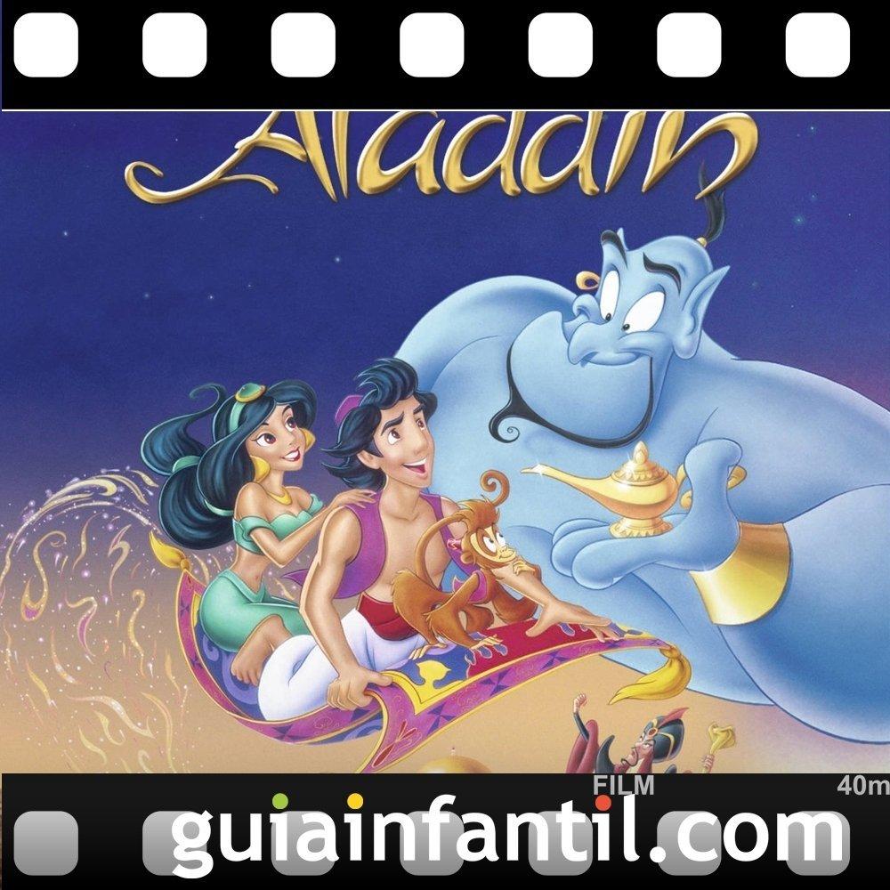 La película para niños Aladdín ganó dos Oscars