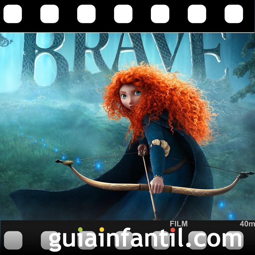 La película para niños Brave están nominada para los Oscar