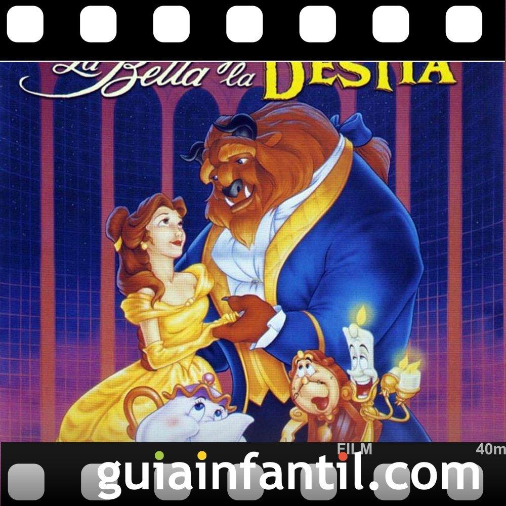 La Bella y La Bestia. Películas para niños con un Premio Oscar