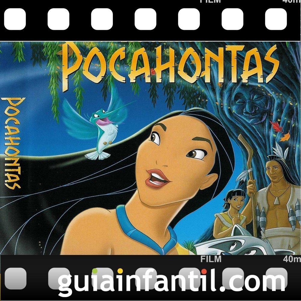 La película para niños Pocahontas ganó dos Premios Oscar