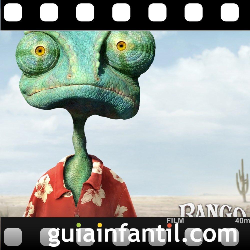 La película de animación Rango ganó un Premio Oscar