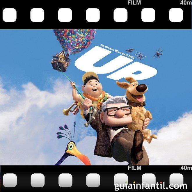 La película para niños Up ganó dos Premios Oscar