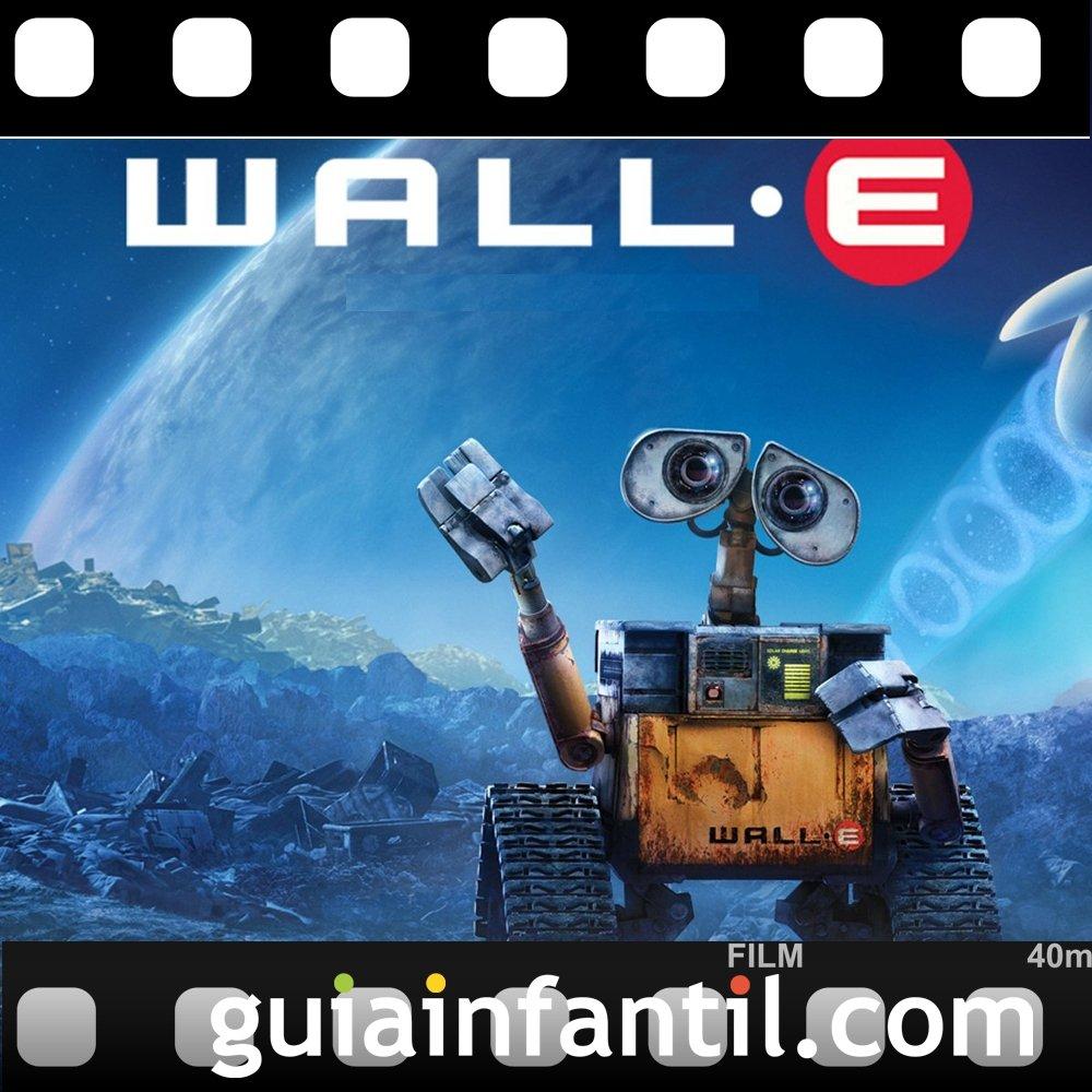 La película para niños Wall-E ganó un Premio Oscar
