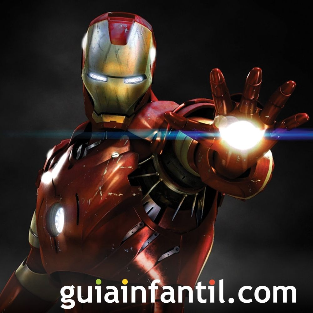 Películas para niños de superhéroes. Iron Man