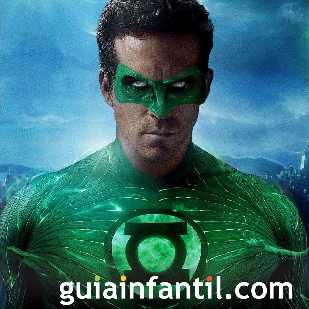 Linterna Verde. Películas de superhéroes para niños